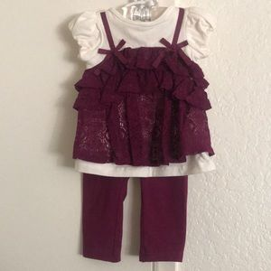 Other - Beautiful baby girl 2 piece set
